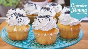 sesame cupcakes black sesame white chocolate mudcake cupcakes cupcake jemma