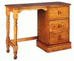 Single Pedestal Dressing Table Pine And Oak Dressing Tables At Cott Farm Furniture