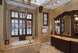 Tuscan Bathroom Design For Fine Luxurious Master Bathroom Design - Tuscan bathroom design