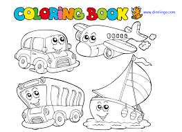 downloads coloring transportation coloring pages 26