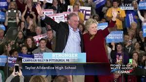 hillary clinton speaks reporters ashland ohio jul 31 2016 c