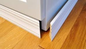 bathroom renovation how to install baseboards trim