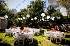 Elegant Backyard Wedding Ideas by Simple Backyard Wedding Decorations Home Design