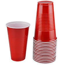 bulk the home store plastic cups 16 oz 16 ct packs