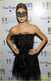 stacy keibler halloween masquerade host photo 2746776 2012