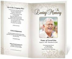 free sle funeral programs templates memorial card template free word template of this