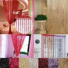 high quality 100x200cm glitter tassel string line door window