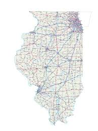 Illinois Interstate Map by Illinois Maps Illinois Map Illinois Road Map Illinois State Map