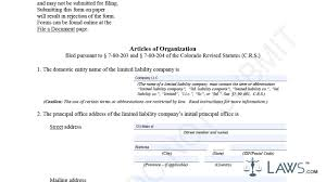 articles of organization llc sample youtube
