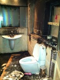 pictures of mario balotelli u0027s bathroom after fireworks were let