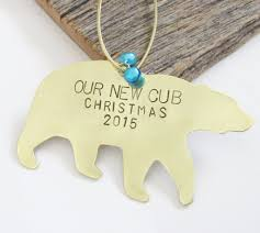 baby u0027s first christmas ornament baby boy gift new parents ornament