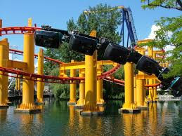 Six Flags Roller Coasters List Suspended Roller Coaster Wikipedia