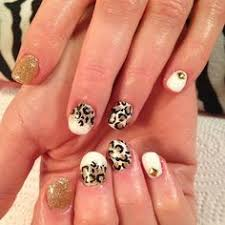floral stamping gold glitter black white nail polish