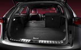 lexus nx 300h gallery cargo space is generous inside the nx 300h picture gallery