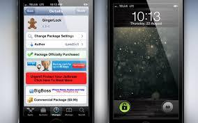 cydia android gingerlock cydia tweak android 2 gingerbread lockscreen on ios