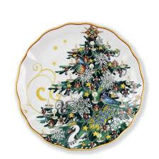 twas the before salad plates set of 4 tree