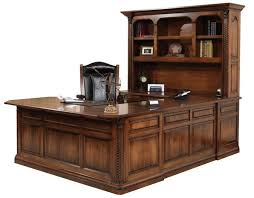 U Shaped Desk U Shaped Desk From Dutchcrafters Amish Furniture
