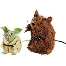 Star Wars Yoda U0026 Chewbacca Mice Cat Toys Petco