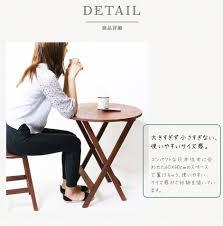 tuck up rakuten global market round folding tables wooden desk