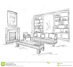 Sofa Drawing by Drawn Sofa Sketch Pencil And In Color Drawn Sofa Sketch
