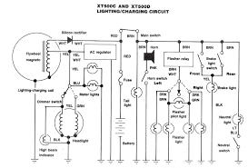 simple electrical set up yamaha xt500 tt500 forum
