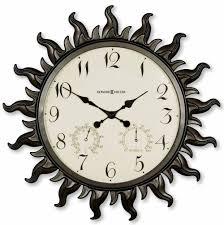 Designer Wall Clock Howard Miller Sunburst Ii 625 543 Wall Clock The Clock Depot