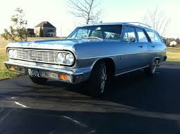 blue station wagon incredible 1964 chevelle malibu station wagon survivor for sale in
