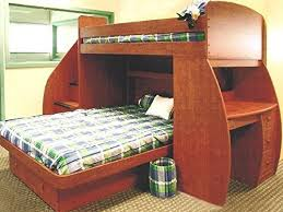 T Shaped Bunk Bed The Photo Above Doesn T Show It But There S A Desk On The Far