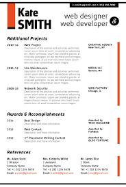 artistic resume templates web designer resume template cover letter portfolio