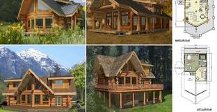 log home and log cabin floor plans between 1500 to 3000 square feet