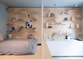 Small Apartments by Stylish And Minimalist Micro Apartment Makes The Most Of Small