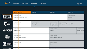 directtv channel guide fubotv review