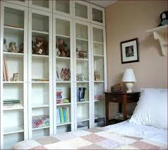 Ikea Bookcases With Glass Doors Ikea Bookcase With Doors Medium Size Of Bookcase Billy Glass Doors