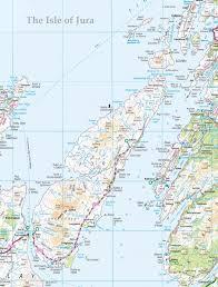 Scotch Whisky Map Isle Of Jura Large Map U2013 Isle Of Jura Info