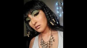 Cleopatra Makeup Tutorial Halloween Costume Ideas Youtube Cleopatra Halloween Makeup Tutorial Costume Wig Youtube