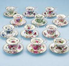 flower of the month royal albert china series flower of the month series 1970