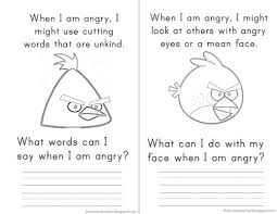 Anger Management Worksheets For Sg Anger Management Elementary Counseling Don T Be An