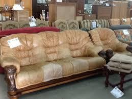 canape cuir rustique canapé et un fauteuil cuir marronn 147 à vendre à la flèche en sarthe