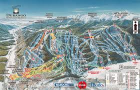 New Mexico Ski Resorts Map by Purgatory Resort Ski Purgatory Co Durango
