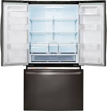 French Door Refrigerator Without Water Dispenser - lg lfc21776d 36 inch counter depth french door refrigerator with