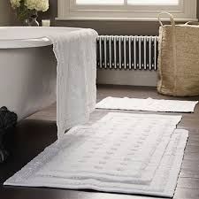bathroom toulon bath mat runner white company heater and