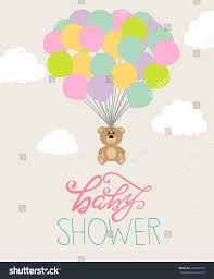 baby shower card stock vector 422943559 shutterstock