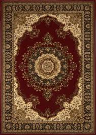 home dynamix area rugs regency rug 8329 200 red traditional