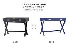 Campaign Desk Land Of Nod Campaign Desk Copycatchic