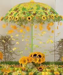Sunflower Centerpiece A Vintage Sunflower Wedding Invitation Is Unveiled Anniversary