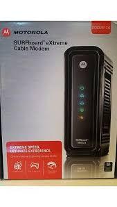 arris modem lights sb6121 motorola arris surfboard docsis 3 0 cable modem black sb6121