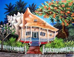 conch house conch house painting by abigail white