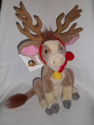 annabelle s christmas wish annabelles wish plush calf cow reindeer christmas stuffed animal