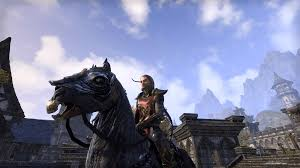 zombie horse mount screenshot with armor please u2014 elder scrolls
