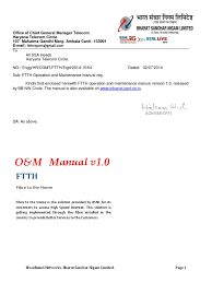 ftth onm manual pdf communications protocols computer architecture